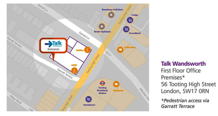 talk wandsworth address